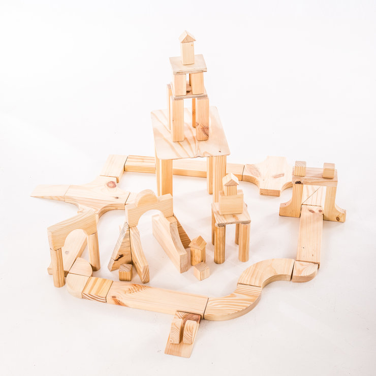 Wooden block sets - basic by Valley Wood