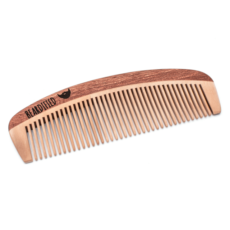 Wooden Comb by Beardified