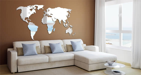 Perspex World Wall Map Small Hello Pretty Buy Design - Buy wall map of the world