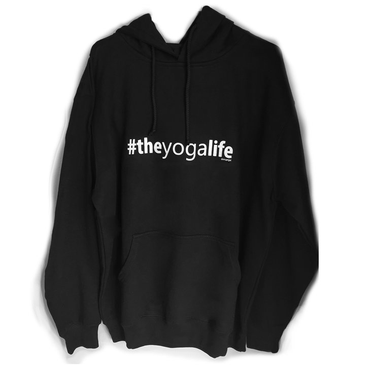 Hoodies - #theyogalife by Manjai