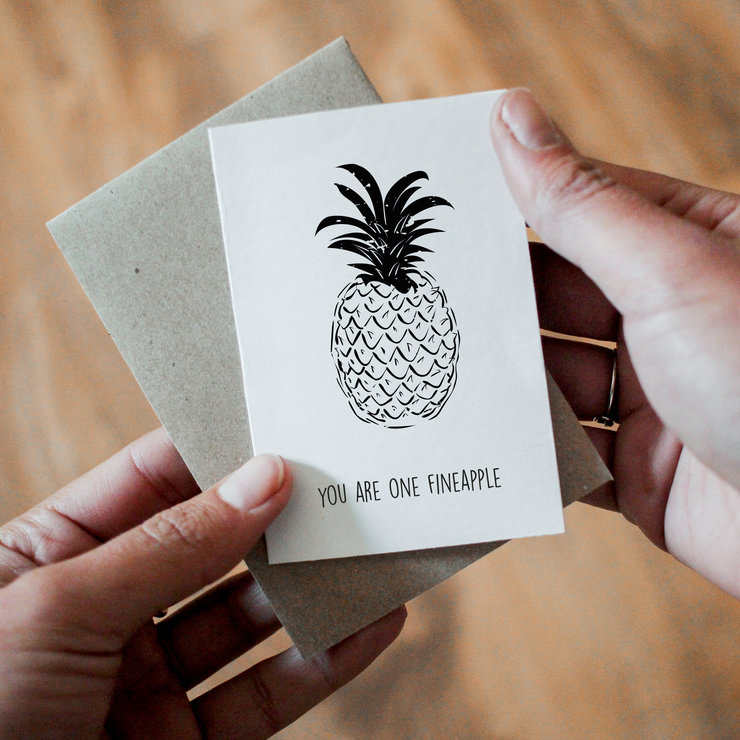 Gift card - You are one fineapple x4 by That Studio