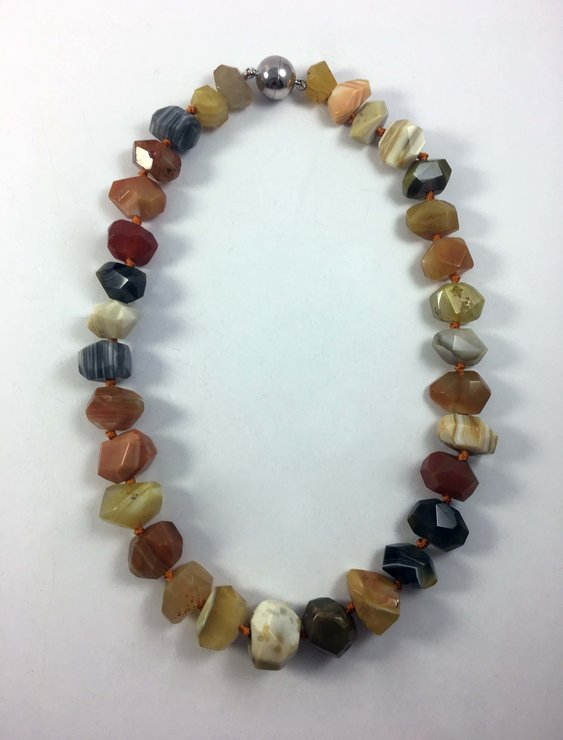 Agate necklace by Jade South Africa
