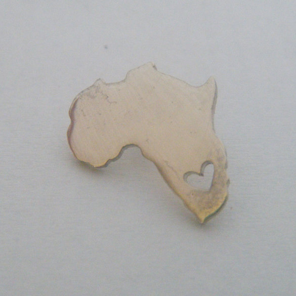 SILVER SPECIAL EDITION AFRICA PENDANT
