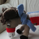 Knitted Donkey