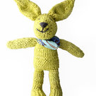 Knitted Bunny Lime