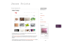 Hello Pretty! on Jezze Prints
