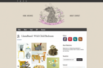LlamaBoard: Wild Child Bedroom on BabaLlama
