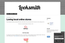 Loving local online stores on Looksmith