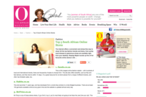 Top 5 South African Online Stores on The Oprah Magazine