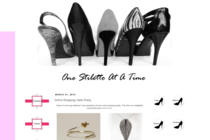 Online Shopping: Hello Pretty on One Stiletto at a Time