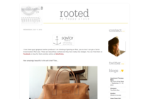 I love these guys' gorgeous leather products! on Rooted