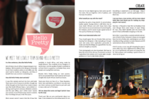 We Meet The Lovely Team Behind Hello Pretty in Flat White Magazine