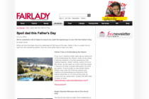 Spoil dad this Father's Day on Fair Lady