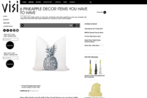 6 Pineapple decor items you have to have on visi.co.za