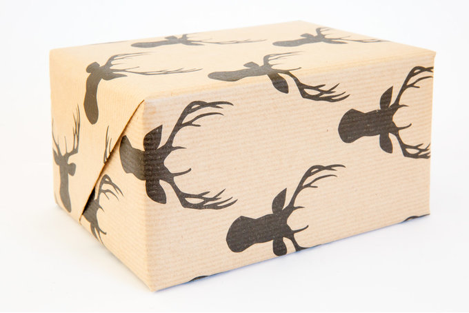 Wedding Gift Boxes Cape Town : Stag Gift Paper by Fox & Heroine