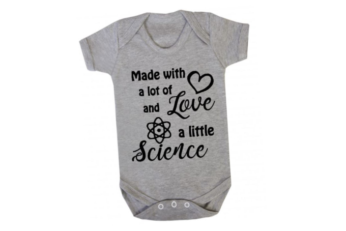 Download Made with a lot of LOVE and a little SCIENCE / BABY ...