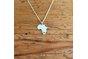 Handmade Sterling Silver - Small Africa pendant by Jessica Jane Jewellery