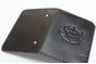 Slim Leather Brogue Wallet  by Savior Brand Co