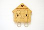His & Hers Bamboo Keychain by HALLO JANE
