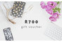 R700 Digital Gift Voucher by Hello Pretty Store
