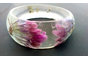 Real flower resin bangle by Wonder Struck Inc
