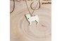 Handmade Sterling Silver - Pug Pendant by Jessica Jane Jewellery