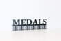 Medals 48 tier medal hanger in Black by Medal Hanger & Home Décor Specialists - DC Designers