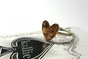 Copper One Cent Heart on Sterling Silver Band by House of Kallie