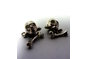 Skull & Bone Cuff-links  by House of Kallie