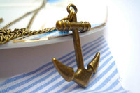 Anchor Necklace by Bow Peep