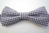 The Inbetweener Pre-Tied Bow Tie Gingham  by Bow Peep