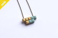Tetromino double Pendant #103 by dor&kie jewellery objects