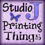 Studio J Printing Things